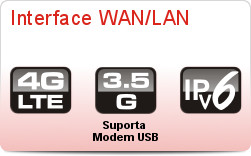 Vigor2130 - Interface WAN/LAN