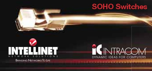 Imagem: Intellinet / Intracom - SOHO Switches