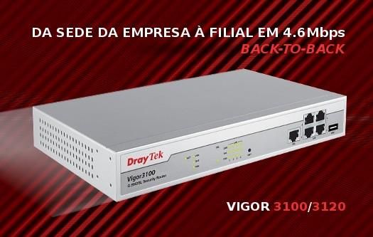 Imagem: Draytek Vigor 3100/3120