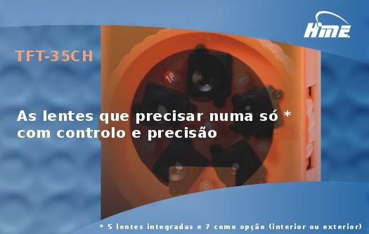 Imagem: Monitor LCD com C�mara CCD a Cores e 5 Lentes Ajust�veis