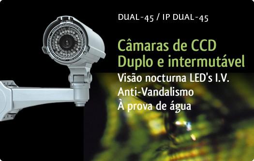 Imagem: C�maras DUAL-45/IP DUAL-45