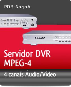 Imagem: Servidor DVR MPEG-4 com 4 canais �udio/V�deo