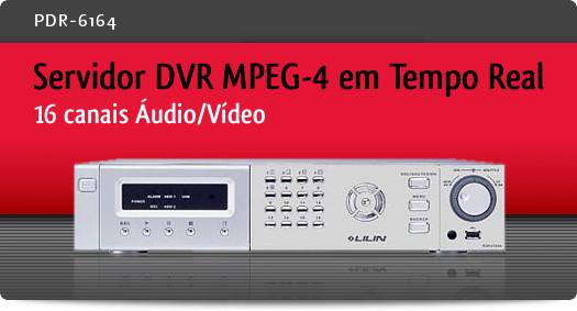 Imagem: Servidor DVR MPEG-4 em Tempo Real com 16 canais �udio/V�deo