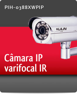 Imagem: C�mara IP varifocal IR