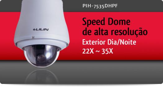Imagem: Speed Dome de alta resolu��o para exterior Dia/Noite