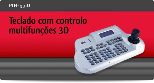 Imagem: Teclado com controlo multifun��es 3D