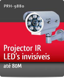 Imagem: Projector IR com LED's invis�veis at� 80M