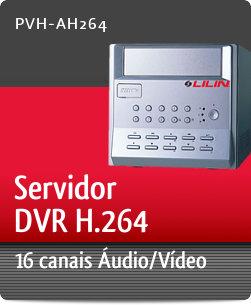 Imagem: Servidor DVR H.264 com 16 canais �udio/V�deo