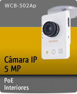 WCB-502Ap - C�mara IP 5 Megapixel PoE / Interiores