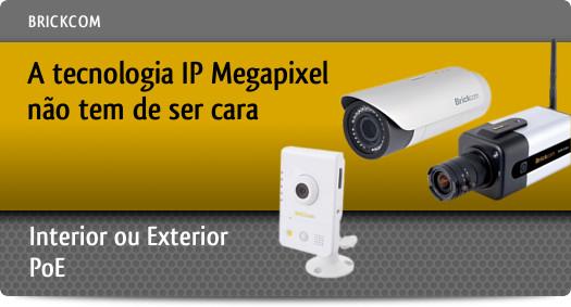A Tecnologia IP Megapixel n�o tem de ser cara.