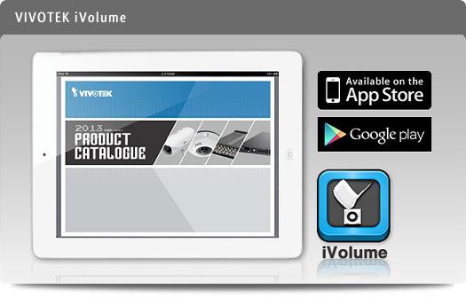 Vivotek iVolume - aplicação para tablets iOS e Android