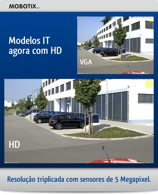 Modelos IT agora com HD