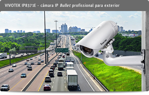 VIVOTEK IP8371E - câmara IP Bullet profissional para exterior