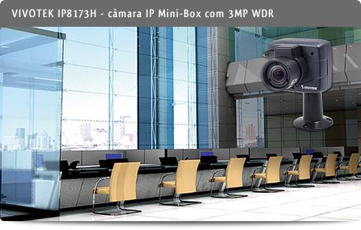 VIVOTEK IP8173H - Câmara IP Mini-Box com 3MP WDR