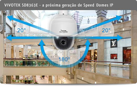 VIVOTEK - SD8363E, a próxima geração de Speed Domes IP