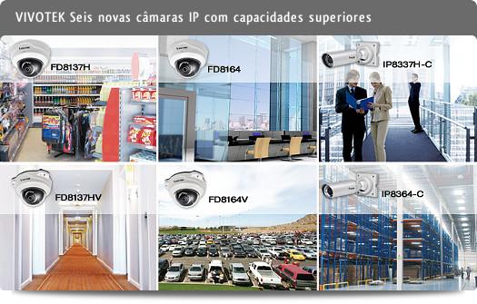 VIVOTEK - Seis novas câmaras IP