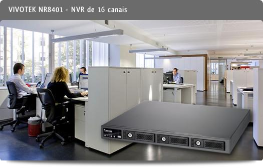 VIVOTEK - NR8401, um NVR de 16 canais
