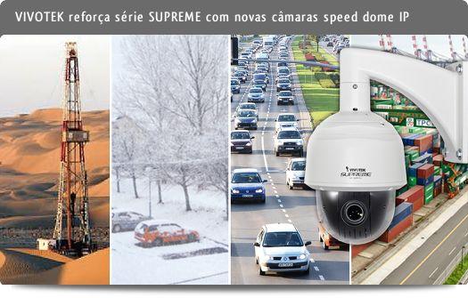 VIVOTEK - Speed Domes IP: SD8314E, SD8324E, SD8316E e SD8326E