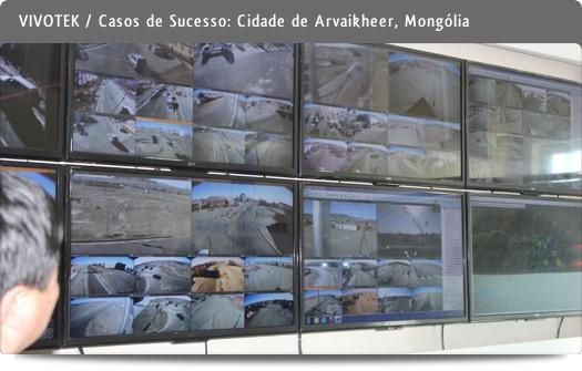 VIVOTEK - Casos de sucesso / Cidade de Arvaikheer, Mongólia
