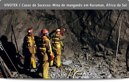 Casos de sucesso - Mina Kuruman, África do Sul