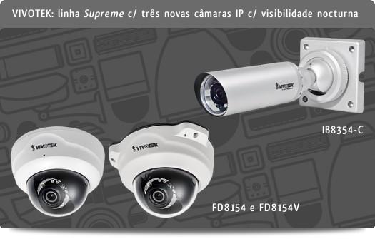 VIVOTEK FD8154, FD8154V e IB8354-C