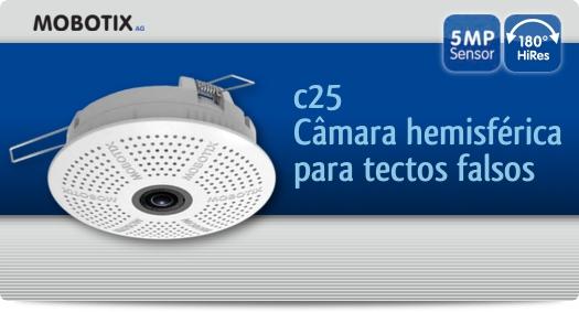 Mobotix - c25 / Câmara hemisférica para tectos falsos