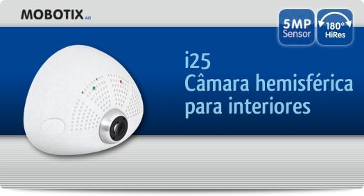 Mobotix - i25 / Câmara hemisférica para interiores