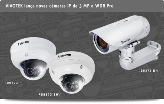 VIVOTEK FD8173-H, FD8373-EHV e IB8373-EH