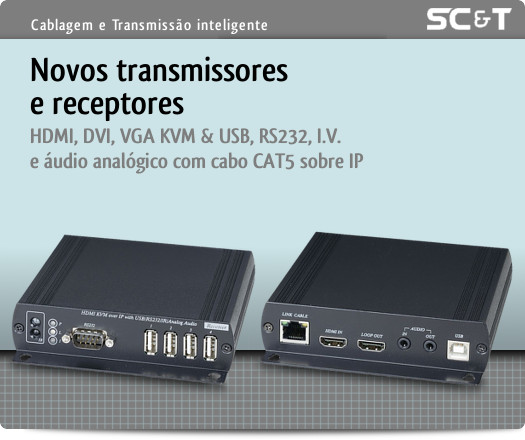 SC&T - Novos Transmissores e Receptores