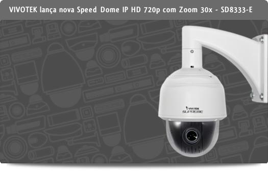 VIVOTEK Speed dome IP HD 720p - SD8333-E