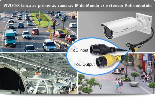 VIVOTEK lança as primeiras câmaras IP do Mundo com extensor PoE embutido - IB8367-R, IB8367-RT e IB8338-HR