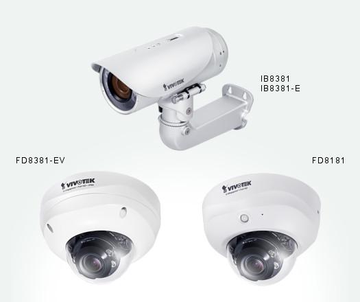VIVOTEK - IB8381, IB8381-E, FD8381-EV e FD8181