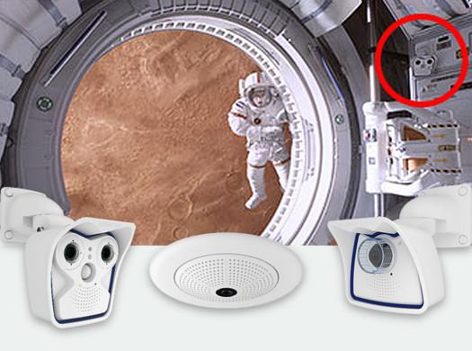 MOBOTIX no filme Perdido em Marte