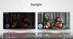 Vídeo: Starlight em interiores