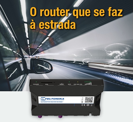 O Router que se faz à estrada