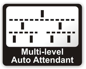 Multi Level Auto Attendant